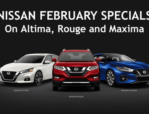 Nissan February 2020 specials on Altima, Rouge and Maxima