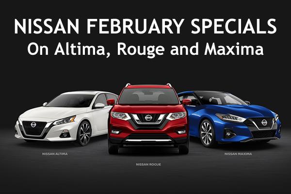 nissan february 2020 specials